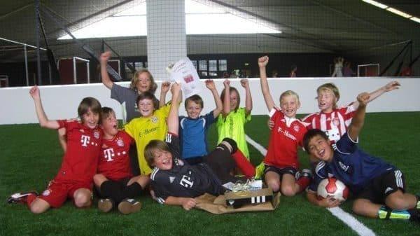 Feiere Deine Party mit Deinen Freunden in der SOCCARENA - so wie Daniel seinen 10. Geburtstag...