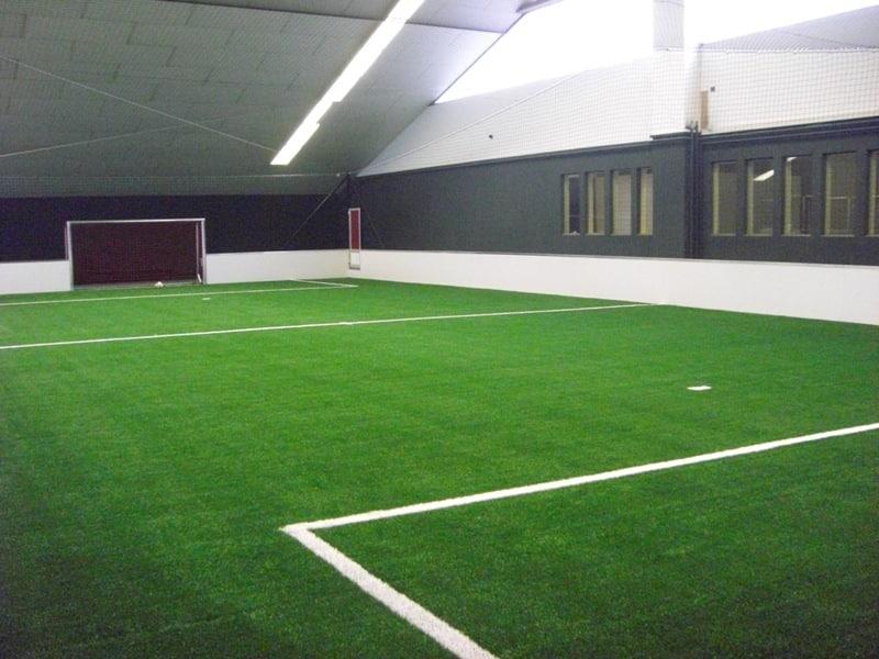 Fußball auf dem Center Court in der SOCCARENA