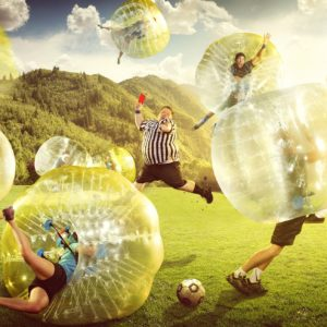 Bubble Soccer in der SOCCARENA