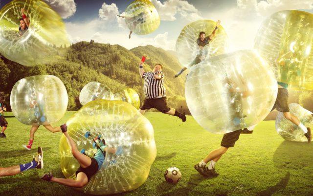 Bubble Soccer in der SOCCARENA