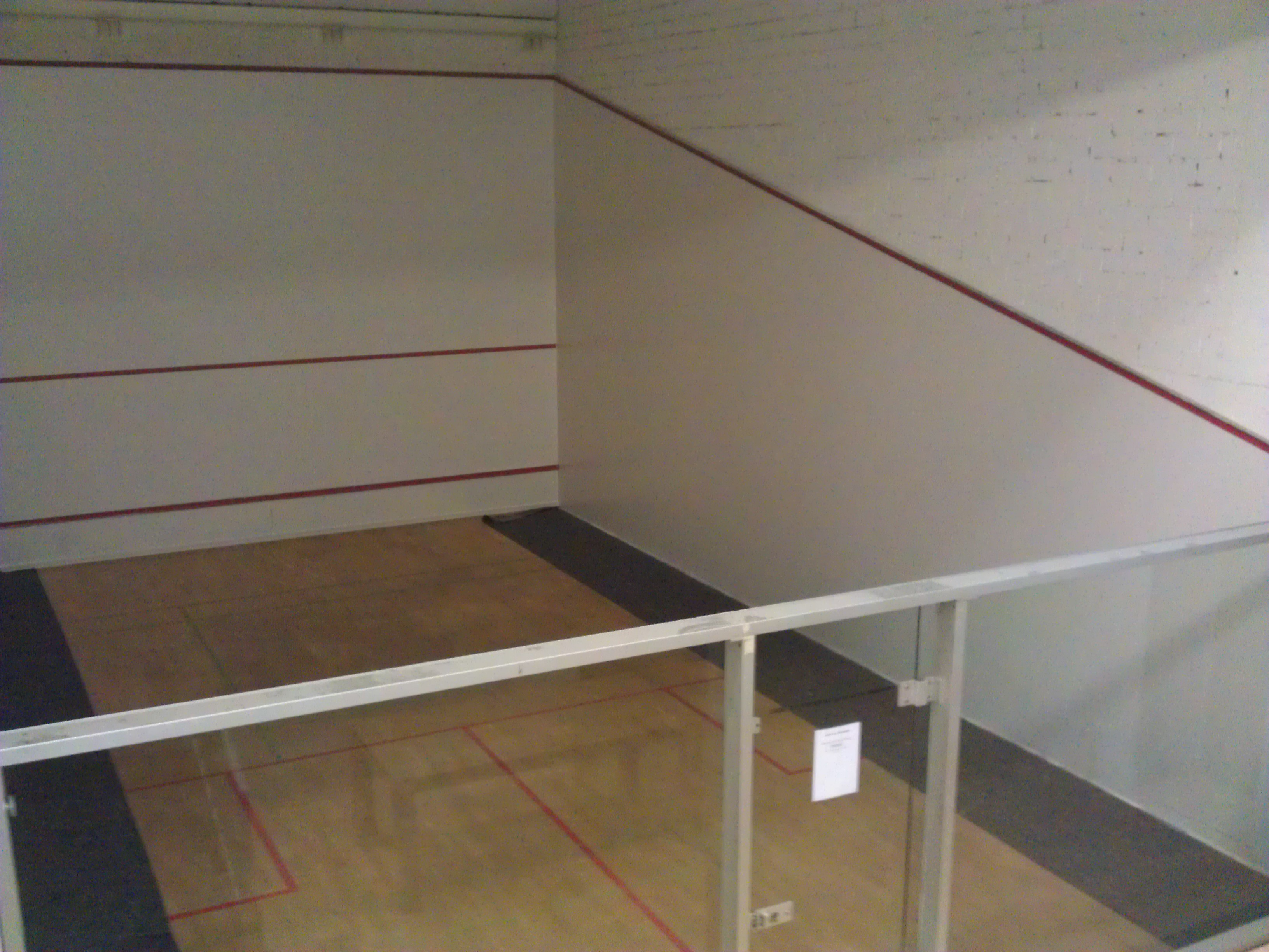 Squash in der SOCCARENA