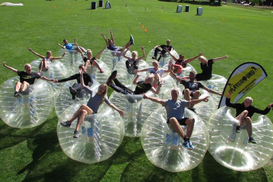 Outdoor Bubble Soccer