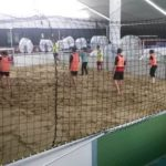 Teambuilding beim Beachsoccer in der SOCCARENA