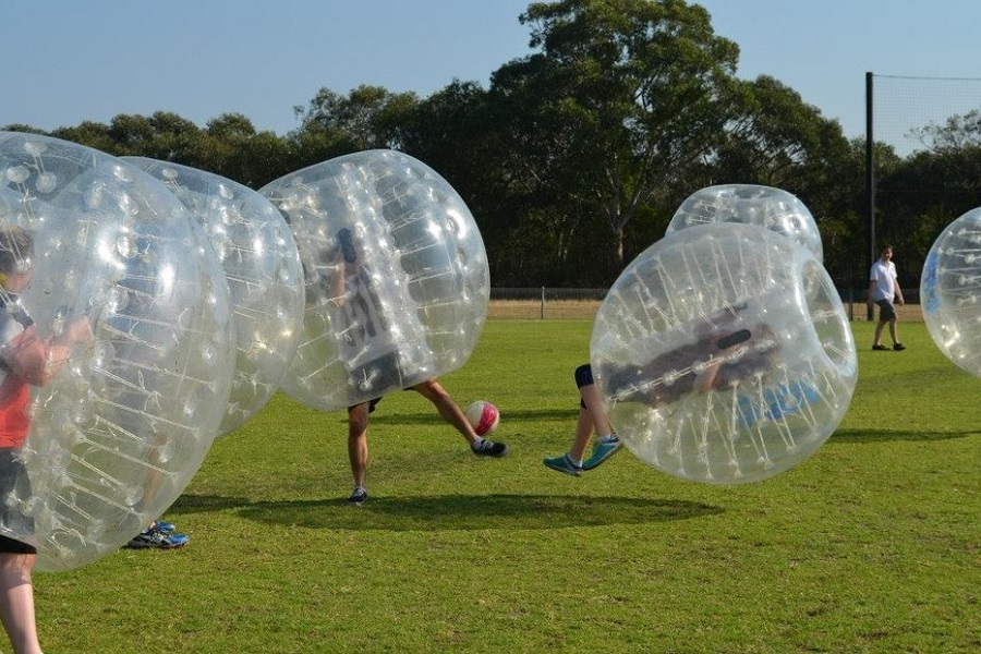 Outdoor Bubble Soccer